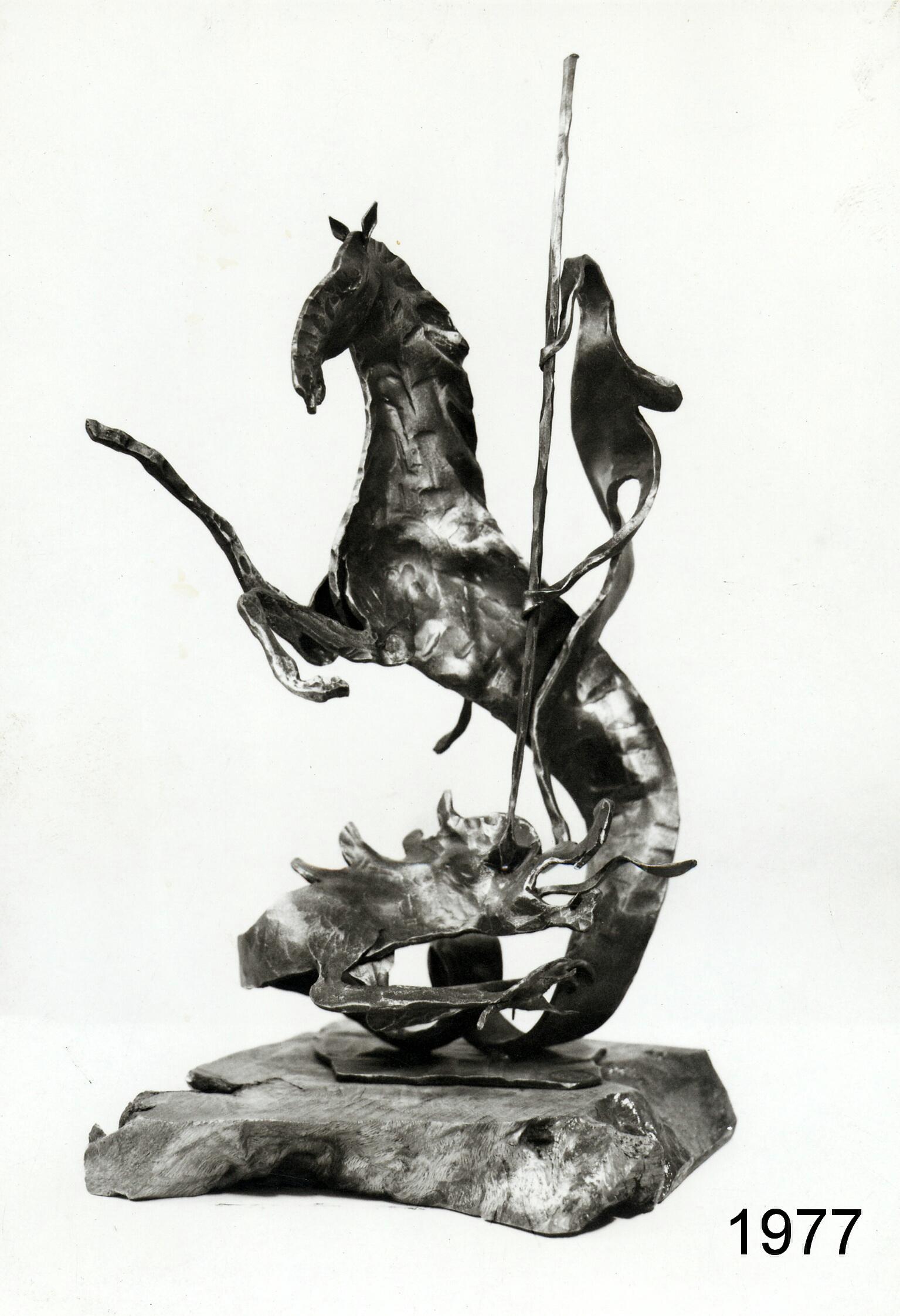 """1977 - """"San Giorgio e il drago"""""""