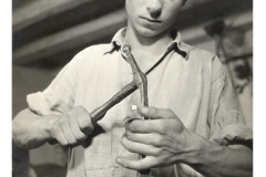 "1951 - Bottega ""Berto da Cogollo"" Ripresa televisiva RAI"